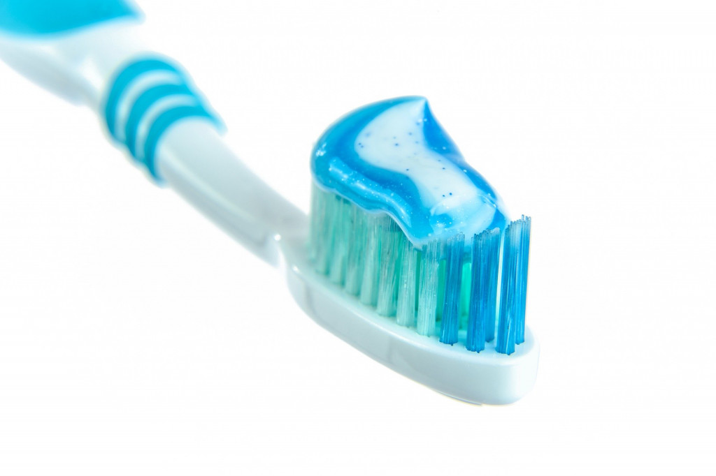 bathroom storage toothpaste