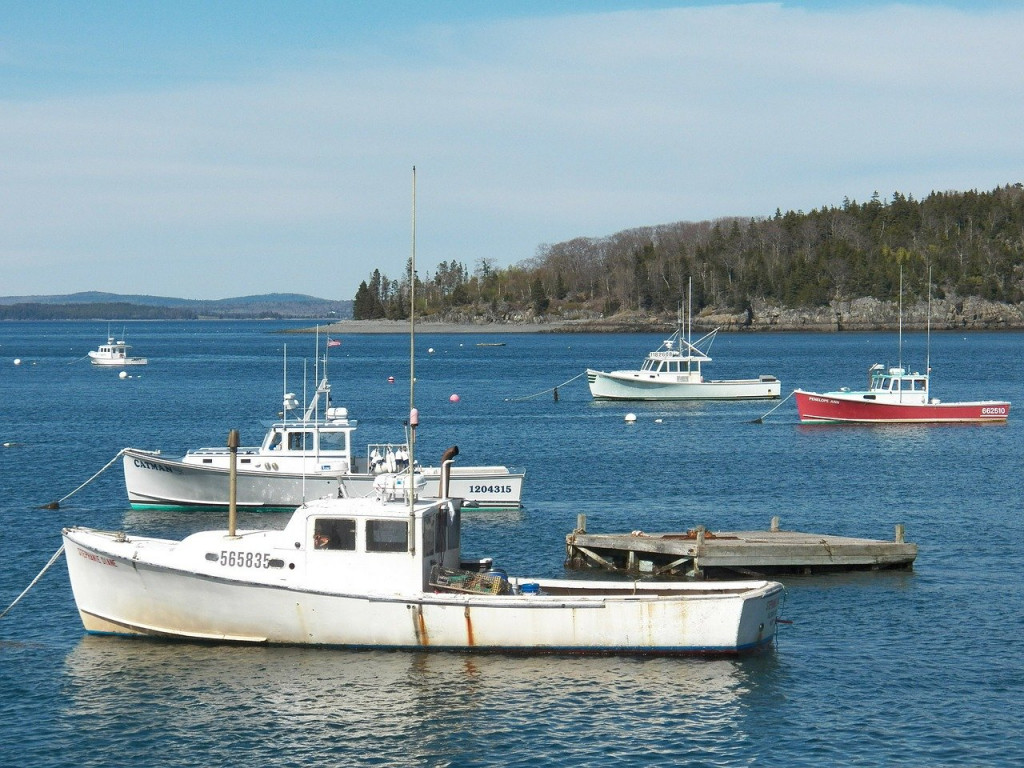 fishing boats maine